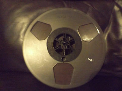Sony Plastic 10.5 Reel with tape for reel to reel player