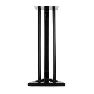 Malone St-1-Stu Speaker Stand Tripod Triangular Frame Height Adjustable - Black