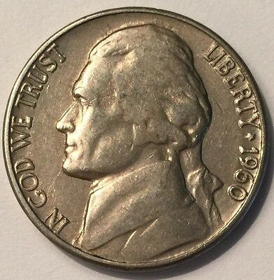 U.S.A 1960-D Jefferson Nickel 5 Cents coin