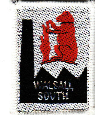 Boy Scout Badge Ext WALSALL SOUTH District 1st Issue