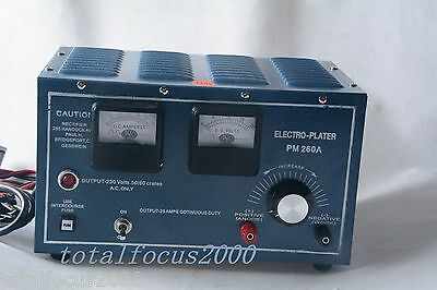 30A Platinum Silver Gold Plating Machine Jewelry Plater Electroplating Rectifier