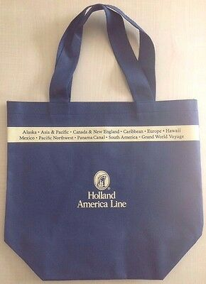 Holland America Line. Tote Bag - Collectors Item Brand New.