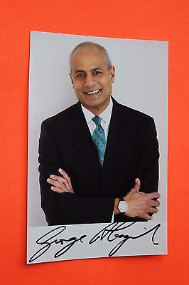 George Alagiah (BBC News) Signed Photo