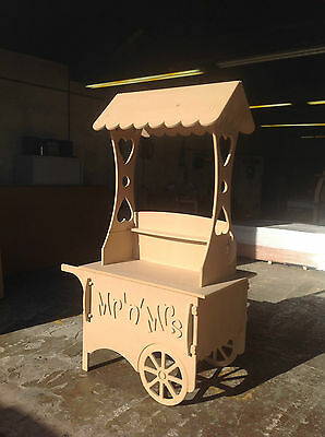 Large 1.95m Candy Cart for Weddings or Parties - collapsible