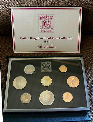 1984 Proof Coin Collection with COA and original presentation box
