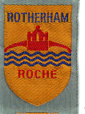 Boy Scout Badge Ext ribbon ROTHERHAM ROCHE District