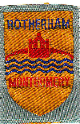 Boy Scout Badge Ext ribbon ROTHERHAM MONTGOMERY District