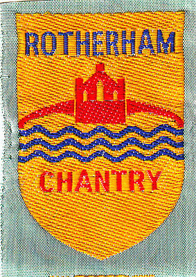 Boy Scout Badge Ext ribbon ROTHERHAM CHANTRY District