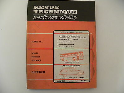 Revue technique automobile RTA CITROEN AMI 8 . AMI 6 ( 35ch ). AK-B