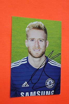 André Schurrle (Chelsea) Signed Club Card
