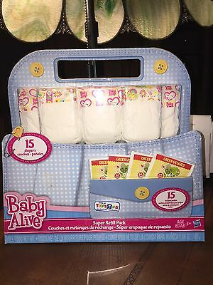 Baby Alive Doll Food And Super Refill Pack 30 Pieces