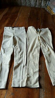 "2 pairs childrens 24"" showing  jodhpurs"