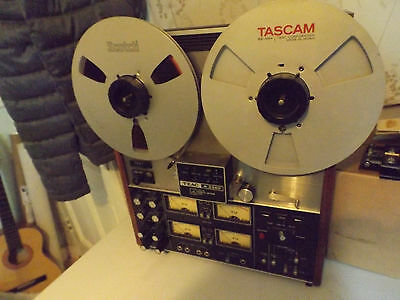 TEAC A3340 Reel to Reel tape recorder, with tascam and Scotch reels