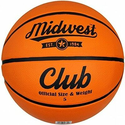 Midwest Club Basketball Ball - Tan, Size 5