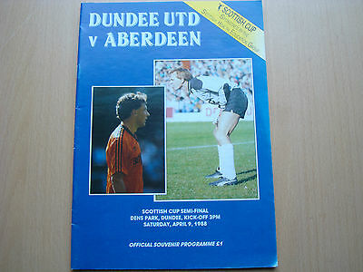 DUNDEE UNITED V ABERDEEN APR 1988 (Scottish Cup semi-final)