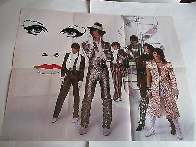 Prince Purple Rain  Poster Vintage Limited Promotional Only 1984  22 X 28