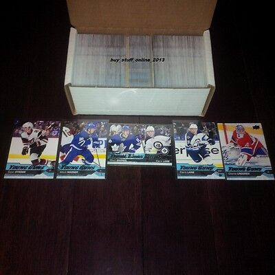 2016 17 Upper Deck Series 2 Complete Set Of 250 With All 50 Young Guns Pre Sale