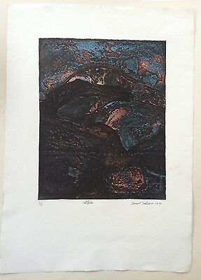 DAVID DICKINSON Limited Edition ETCHING Sulitzelm 1968 Atelier 17?