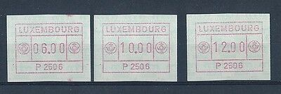 D115360 ATM Postage Labels MNH Luxembourg