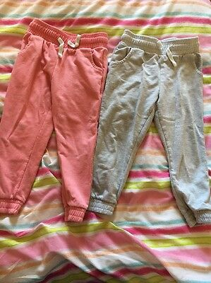 4-5/5 Years Girls Jogging Bottoms Tracksuit Bottoms