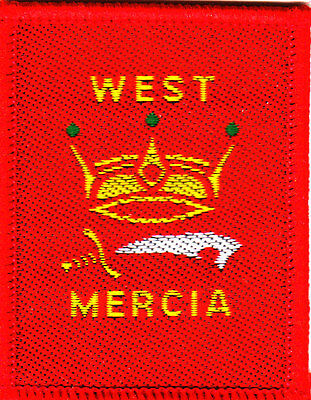 Boy Scout Badge WEST MERCIA County 2015 Issue