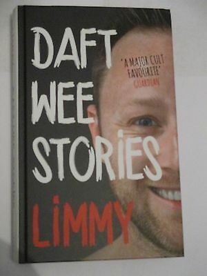 Daft Wee Stories by Limmy RARE First Edition Hardback Brian Limond 1st Show BBC