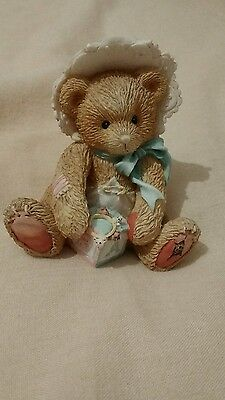 Cherished Teddies Teddy Bobbie Retired 624896 New Baby Boy Girl Gift 1993 Reg No
