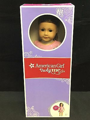 American Girl Truly Me Doll: Light Skin, Short Brown Hair, Brown Eyes #57