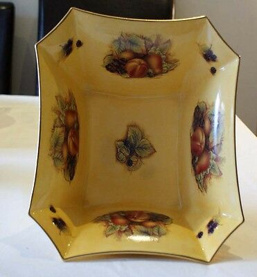 Aynsley Orchard Gold Gilded Westbury Centre Piece
