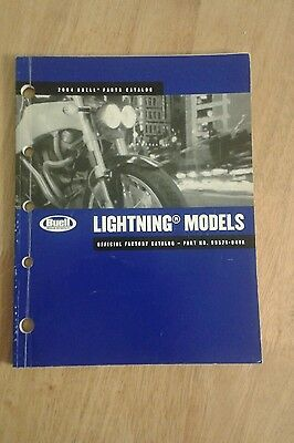 Buell Lightning  XB9S official Parts Manual  2004