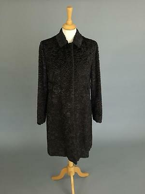 'S Max Mara Ortles faux-astrakhan coat Size 12