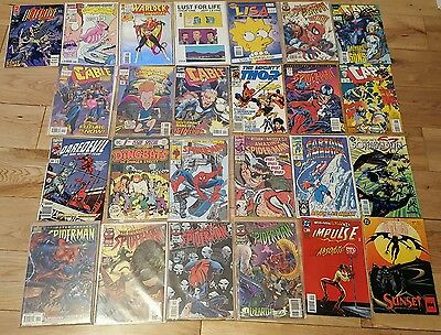 Comic Collection - 25 Comics Spiderman, Cable, etc.