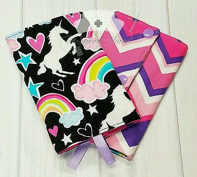 DEAR DIARY unicorn horse baby carrier suck/drool pads- fit Tula and most SSCs