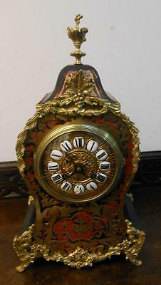 victorian FRENCH striking boulle clock