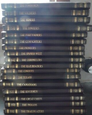 Time Life Lot Of 17 Old West
