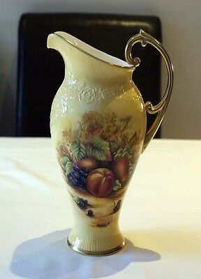 Aynsley Orchard Gold Tall Gilded 'Dovedale' Jug