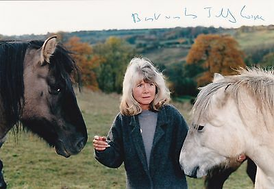 Jilly Cooper Signed Photo - English Author