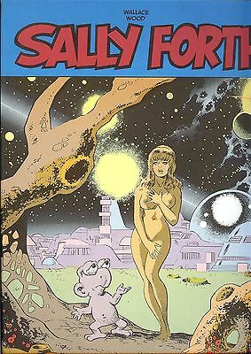 SALLY FORTH, di Wallace Wood. New Comics Now, n.5