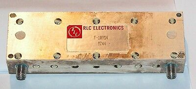 RLC  F-10954 Microwave Band Pass Filter 1,8 - 2GHz