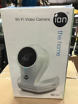 iON The Home Pro Wi-Fi Wireless Cloud Video Monitoring Security Camera (White)