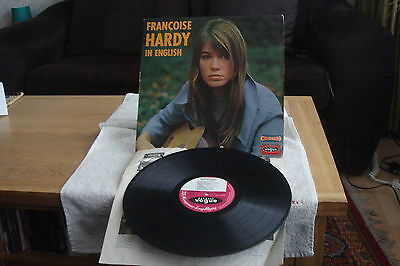 FRANCOISE HARDY – In English –FRENCH LP-1966-VG- STEREO