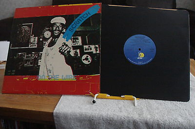 REGGAE-Lee Scratch Perry -On the Wire-UK LP-EX-1979- Various -Rare Killer Roots