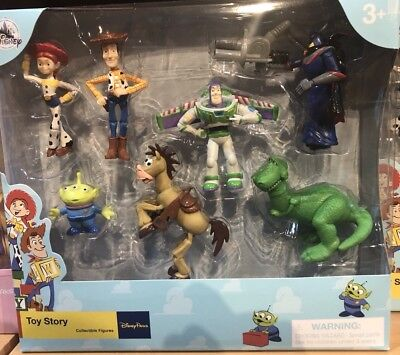 Toy Story Figures Playset Cake Toppers Disney World Theme Parks NEW