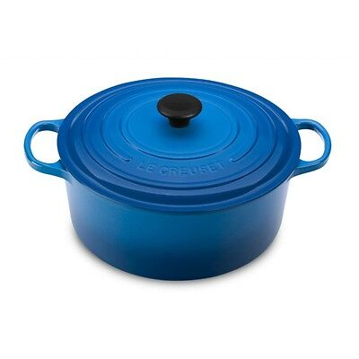 """Le Creuset 9 Qt Signature Round French Oven Marseille  """"new Factory Sealed"""""""