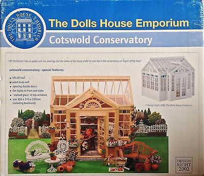 Dolls House Cotswold Conservatory