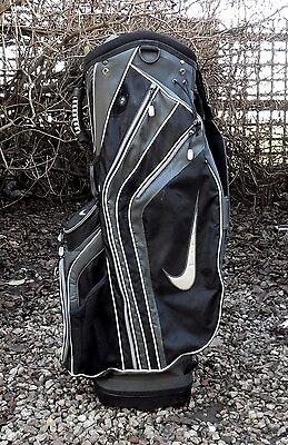 14 Division Large Capacity Nike Tour Trolley Cart Carry Golf Clubs Bag