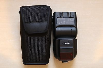 Canon Speedlite 430EX III-RT - Very good condition – see description below