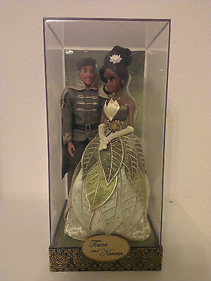 Tiana and Naveen Doll Set Disney Fairytale Designer Collection
