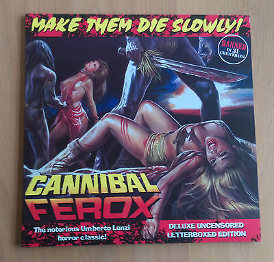 Cannibal Forex (Make Them Die Slowly) Special Edition Laserdisc GRL001 - NM Cond