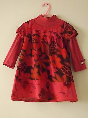 Girls CATIMINI Dress - Age 2 Years - Excellent Condition